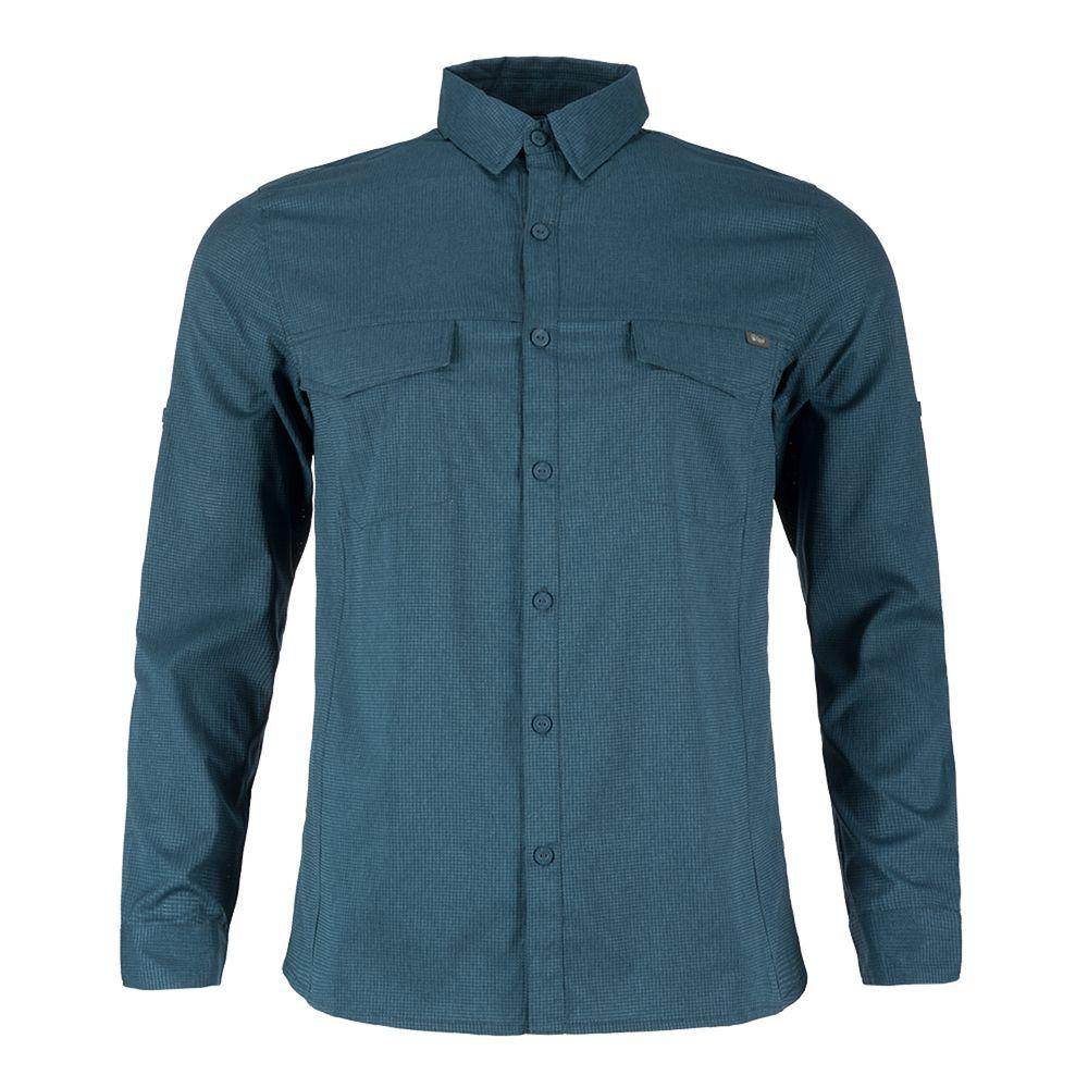 HOMBRE-M-Rosselot-Q-Dry-Shirt-L-S-M-Rosselot-Q-Dry-Shirt-L-S-Melange-Azul-61